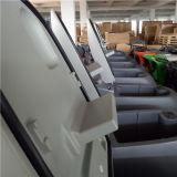 工場002のための乾湿両方のWalkbehindの床のスクラバーに二重ブラシをかけなさい