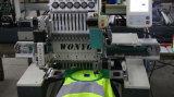 Einzelne Farben des Kopf-15 computerisierten Stickerei-Maschine für Schutzkappen-Shirt-flaches Bett-Stickerei