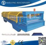 CE aprovado metal piso de aço decks painel de rolo dá forma à máquina