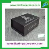 Rectángulo de empaquetado de papel del regalo magnético de encargo del encierro