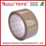 Cinta adhesiva de la adherencia BOPP Brown de la alta calidad