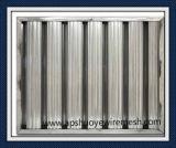 Waschbarer Reuseable Edelstahl-Aluminiumineinander greifen-Fett-Filter