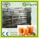 販売のためのにんじんのフルーツジュースの生産ライン