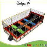 Xiaofeixia Fabrik-Preis-Kind-Vierecks-Trampoline-Innenminitrampoline-Bett für Kinder