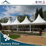 Hohes Peak 6X6m Outdoor White Pagoda Tent für Garten Party