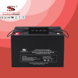 Bateria livre da potência solar de bateria de armazenamento Mlg12-90 do gel da manutenção (12V90AH)