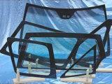 Máquina de cristal horizontal del ribete del CNC para moler el vidrio auto