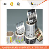 Напечатанный изготовленный на заказ винил печатание ярлыка бирки липкой бумага маркирует стикер