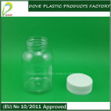 130ml Pet Clear Plastic CapsuleかPill/Tablet Bottle