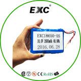 5s 18V Lipo Lithium-Plastik-Batterie der Batterie-18650 nachladbare