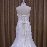 Sobre a sereia 2016 do vestido de casamento do laço