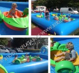 かいBoat、Kids D4001のためのInflatable Swimming Pool Pedal Boat