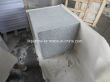 Plancher du granit G603 avec flambé de finition