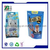 Sac en plastique d'emballage pour animaux de compagnie pour animaux domestiques avec Zip Lock