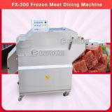 Máquina de corte en cuadritos de la carne congelada/cortadora congelada de la carne Fx-300