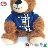 Teddybeer de Van uitstekende kwaliteit van Ecuad met het Stuk speelgoed van de Jonge geitjes van de Gift Hoody