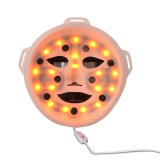 3D ricaricabile Massage LED IPL Facial Massage Mask per Anti-Aging Wrinkle Removal e Skin Rejuvenation con il USB Adapter per Lady Wy-1003