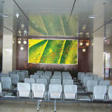 Anúncio alugado interno da exposição de diodo emissor de luz da cor P7.62 cheia