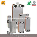 Échangeur de chaleur brasé de plaque pour des systèmes de réfrigération