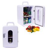 Mini réfrigérateur portatif 12liter DC12V, AC100-240V dans le refroidissement et le chauffage pour le véhicule ou l'usage de maison