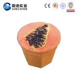 ホーム家具のフルーツの装飾の円形のオットマン(SCRS000054)