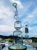 Birdcage-Filtrierapparat-Glasrohr-rauchendes Wasser-Rohr mit Fabrik-Preis