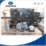 Unidade de condensação necessário do refrigerador de ar do armazenamento frio de quarto frio de torre refrigerando