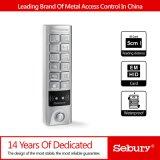 Controlador do acesso do teclado do metal/leitor impermeáveis, controlador do acesso do leitor de Wiegand Input&out RFID