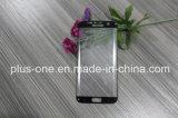 3D Gebogen Mobiele Beschermer van het Scherm van het Glas van de Telefoon Toebehoren Aangemaakte voor de Rand van de Melkweg van SAM S7