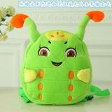 Regalo encantador del juguete de la felpa de la cartera linda del bebé de Caterpillar el mejor