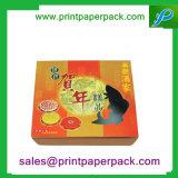 Caixa de embalagem de presente de papel Mooncake lindo