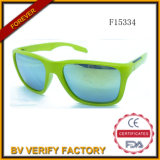 F15334 Plastic Sunglasses mit Mirrored Lens für Man