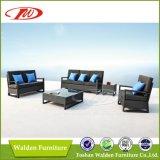 Mesa redonda ao ar livre da mobília secional do Sofa/(DH-9582)