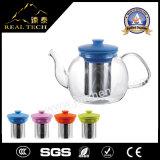 Ясный чайник стекла Pyrex с Infuser или стрейнером 800ml