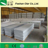 Tarjeta impermeable de la fachada del color del cemento de la fibra para la pared exterior del revestimiento