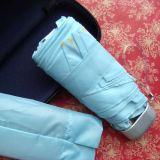 21 인치 플라스틱 손잡이에 의하여 주문을 받아서 만들어지는 수동 조밀한 우산 Sy039