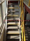 Passos de escada moldados FRP do Grating/Anti-Slippery/FRP