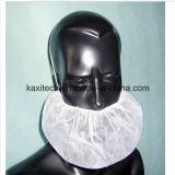 Protezione a gettare della bocca del coperchio della barba bianca
