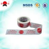 Adhesivo de gran calidad imprimió la cinta de embalaje