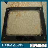3-10mm Tempered Printing Glass Panel para Oven Door