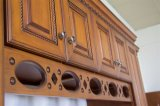 Американский шкаф Ktichen твердой древесины