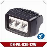 """3 """" 12W de Lamp van het Werk van de Rechthoek CREE met Ce (CH-wl-030-12W)"""