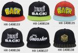 2017方法6パネル3Dの刺繍の急な回復の帽子の帽子