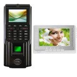 Control de acceso de la puerta de la huella digital de M-F221 Realand 1000 con software