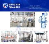 Máquina de engarrafamento plástica da água bebendo