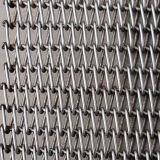 Cinghia della maglia del nastro metallico per essiccamento, lavaggio, forno a tunnel, trattamento caldo