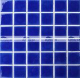 mattonelle di mosaico di ceramica del raggruppamento di Carckle del ghiaccio blu scuro di 48X48mm (BCK646)