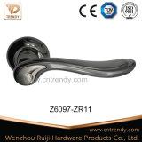 Ручка рукоятки двери сплава цинка деревянная на Rose (Z6059-ZR09)