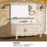 競争価格の床の永続的で旧式な木製の浴室の虚栄心
