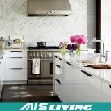 普及したヨーロッパ式の白いラッカー食器棚(AIS-K856)